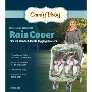 babyroues Comfy Baby Universal Double Jogging Stroller Raincover 920