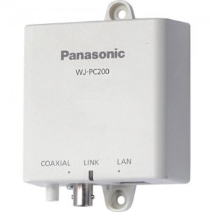 Panasonic Coaxial - LAN Converter - Camera Side Unit WJ-PC200