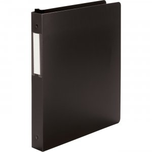 "Wilson Jones 1"" Hanging DublLock® Round Ring Binder W390-14B WLJ39014B"
