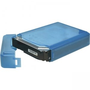 SYBA 3.5 inch IDE/Sata HDD Storage Box (Blue Color) SY-ACC35011