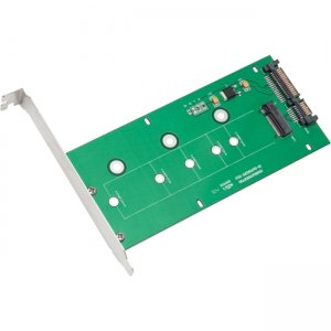 IO Crest M.2 NGFF to SATAIII Card with Full & Low Profile Brackets SI-ADA40084