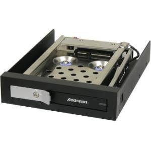 Addonics Shock Proof 2.5inch Snap-In Mobile Rack AE25SNSP
