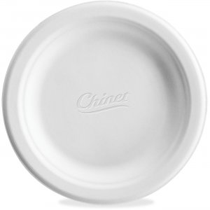 "Chinet Paper Dinnerware, Plates, 6"", 1000/CT, White VACATECT HUHVACATECT"