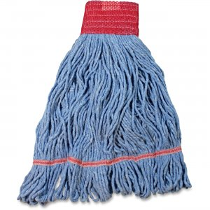 Impact Products Cotton/Synthetic Blend Saddle-Type Looped-End Wet Mop with Tailband L270LGCT IMPL270LGCT