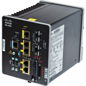 Cisco 3000 Network Security/Firewall Appliance ISA-3000-2C2F-K9
