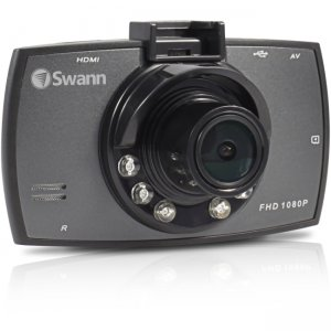 Swann Economy HD Dash Camera - 1080p Portable Vehicle Recorder SWADS-130DCM-GL SWADS-130DCM