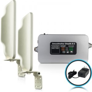 Smoothtalker Stealth X2-72dB Building Cellular Signal Booster - Rural BBUX272GK X2 72