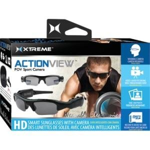 Xtreme Cables ACTION VIEW POV Sport Camera XCG6-1001-BLK