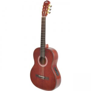 PylePro Acoustic Electric Guitar PGA33LBR