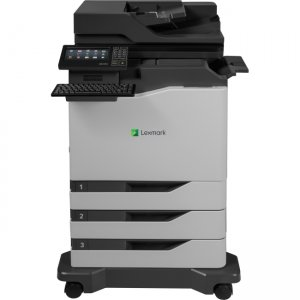 Lexmark Colour Laser Multifunction Printer Government Compliant 42KT082 CX820dtfe