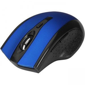 SIIG 6-Button Ergonomic Wireless Optical Mouse - Blue JK-WR0B12-S2
