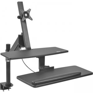 Tripp Lite WorkWise Single-Monitor Sit-Stand Desk Clamp Workstation WWSS1327CP