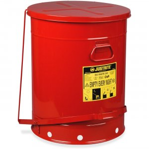 JUSTRITE 21-Gallon Oily Waste Can 09700 JUS09700