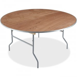 Iceberg Natural Plywood Round Folding Table 56260 ICE56260