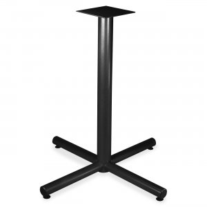 Lorell Hospitality Table Bistro-hgt X-leg Table Base 34419 LLR34419