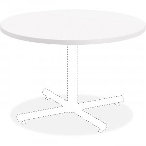 Lorell Hospitality White Laminate Round Tabletop 99857 LLR99857