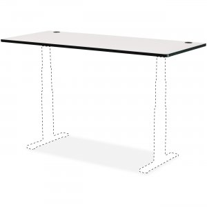 "Safco 48 x 24"" Top for Height-Adjustable Table 1894GR SAF1894GR"