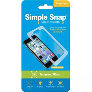 ReVamp Simple Snap Screen Protector (iPhone 7 Plus) (Tempered Glass) SS0035