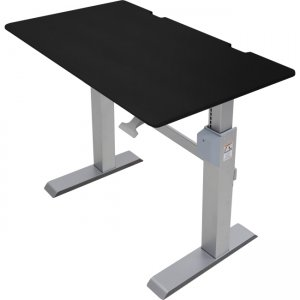 Ergotron WorkFit-DL 48, Sit-Stand Desk (Black) 24-567-F03