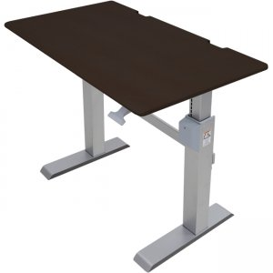 Ergotron WorkFit-DL 48, Sit-Stand Desk (Wenge) 24-567-F59