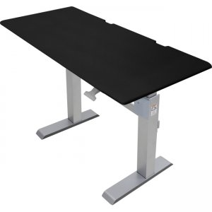 Ergotron WorkFit-DL 60, Sit-Stand Desk (Black) 24-568-F03