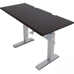 Ergotron WorkFit-DL 60, Sit-Stand Desk (Wenge) 24-568-F59