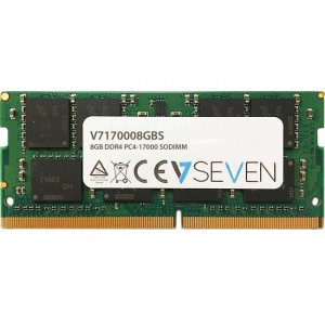 V7 8GB DDR4 PC4-17000 - 2133Mhz SO DIMM Notebook Memory Module V7170008GBS