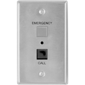 Valcom Emergency/Call Push Button V-2970