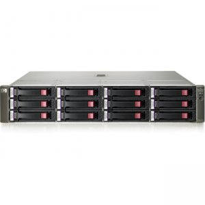 HP 10GbE iSCSI MSA Dual Controller SFF Array System AW597B P2000 G3