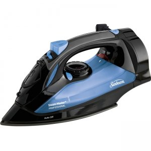 Sunbeam Steam Master Iron with Retractable Cord, Black & Blue GCSBSM-423-000