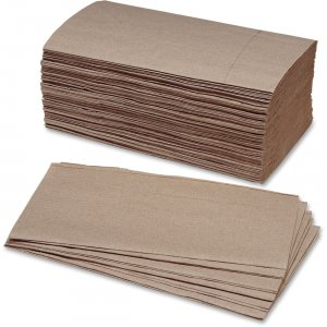 SKILCRAFT Single Fold Kraft Paper Towels 8540002627178 NSN2627178