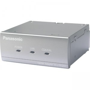 Panasonic Coaxial - LAN Converter - 1-Channel Receiver Side Unit WJ-PR201