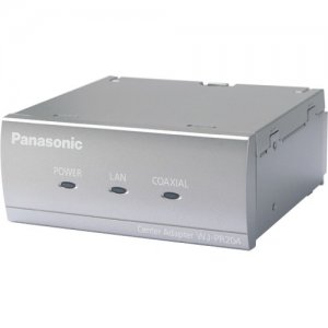 Panasonic Coaxial - LAN Converter - 4-Channel Receiver Side Unit WJ-PR204