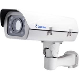GeoVision 1 MP 10x Zoom B/W Network Camera GV-LPR1200