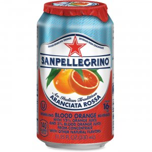 SanPellegrino Italian Sparkling Blood Orange Beverage 041508433495 NLE041508433495