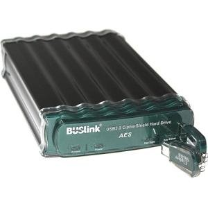 Buslink CipherShield USB 3.0 FIPS 140-2 AES 256-bit Encryption External Drive CSE-500-U3
