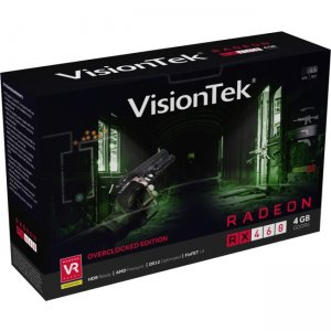 "Visiontek AMD Radeon RX 460 ""Overclocked"" Edition Graphic Card 900900"