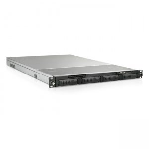 iStarUSA 1U 4-Bay Storage Server Rackmount Chassis with 280W Redundant Power Supply EX1M4-28R1UP8