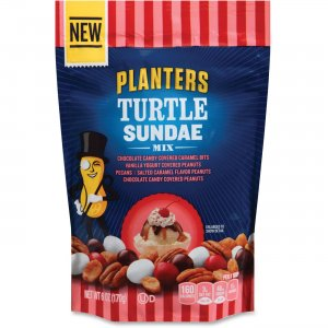 Kraft Foods Kraft Planters Turtle Sundae Mix 2099 KRF2099