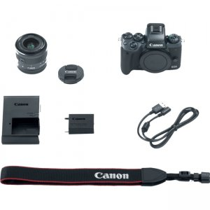 Canon EOS Mirrorless Camera with Lens 1279C011 M5
