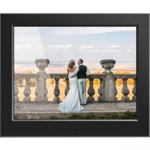 "Aluratek 8"" Slim Digital Photo Frame with Auto Slideshow Feature ASDPF08F"