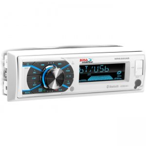 Boss Audio Single-DIN MECH-LESS Multimedia Player (no CD/DVD) Detach Panel Bluetooth MR632UAB