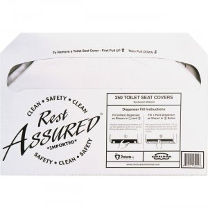 Impact Products Rest Assured Half Fold Toilet Seat Covers 25183273 IMP25183273
