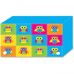 Ashley Colorful Owls Index Card Holder 90352 ASH90352