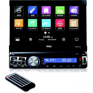 Pyle GPS Bluetooth CD/DVD Stereo Receiver PLBT71G