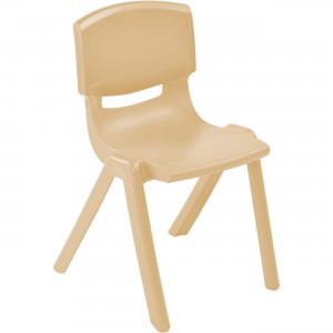 "ECR4KIDS 10"" Resin School Stack Chair ELR-15410-SD ECR15410SD"