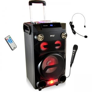 Pyle Portable Bluetooth Karaoke Speaker System PWMA335BT
