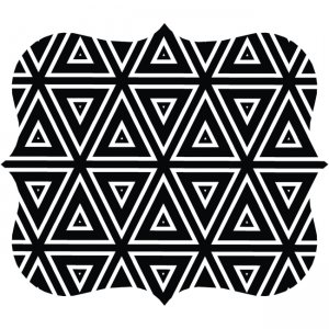 Fellowes Designer Mouse Pad - Geometric Triangles 5919201