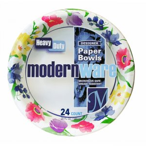 AJM Packaging Heavy Duty Paper Dinnerware DB20MW012 AJMDB20MW012