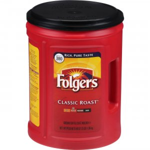 Folgers Classic Roast Ground Coffee 0529C FOL0529C